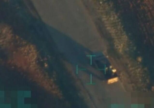IŞİD'e ait bombalı araç imha edildi