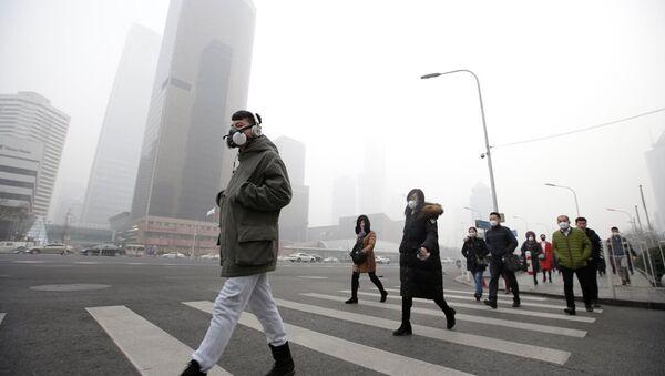 Çin - hava kirliliği - Sputnik Türkiye