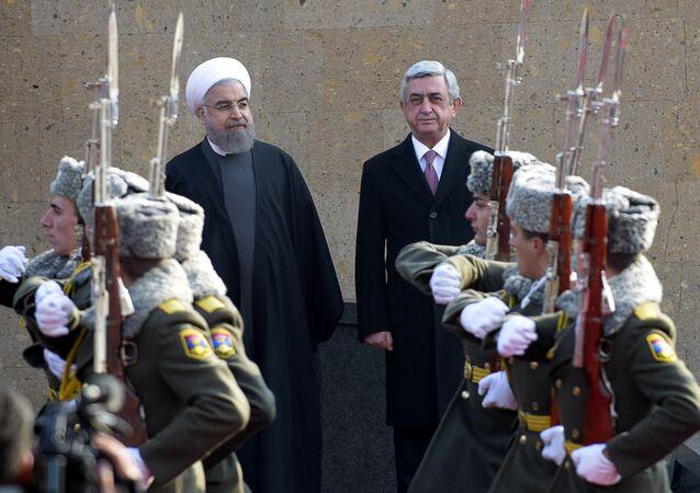 Hasan Ruhani - Serj Sarkisyan