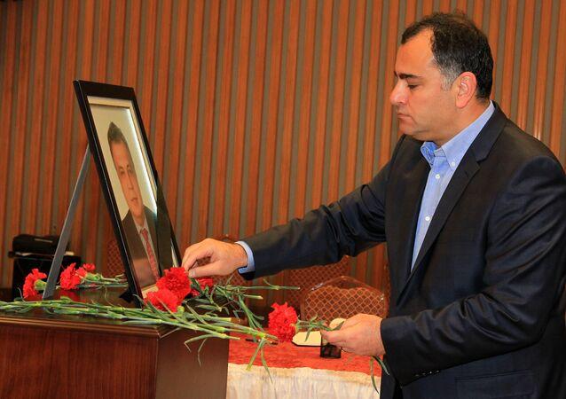 Çankaya Belediye Başkanı Taşdelen'den Rusya Büyükelçiliği'ne taziye ziyareti.