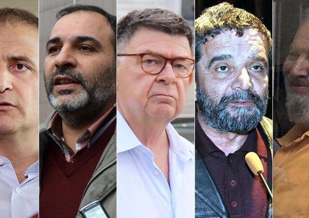 Ekrem Dumanlı, Bülent Keneş, Şahin Alpay, Mümtaz Türköne ve Ahmet Turan Alkan