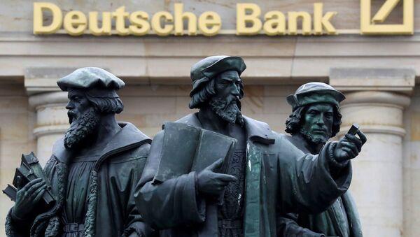 Deutsche Bank'ın Frankfurt'daki merkezi - Sputnik Türkiye