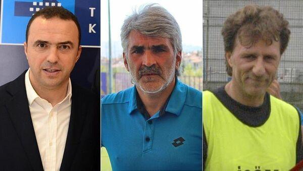 Arif Erdem, Uğur Tütüneker, İsmail Demiriz - Sputnik Türkiye
