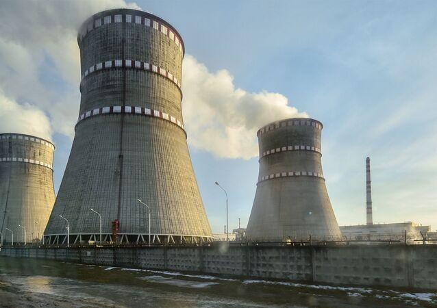 Almanya'daki bir nükleer santral