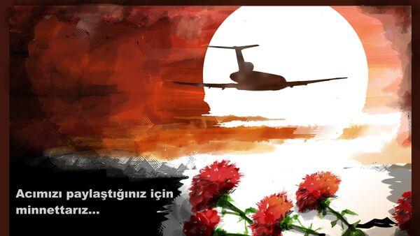 Tu-154 uçak kazası - Sputnik Türkiye