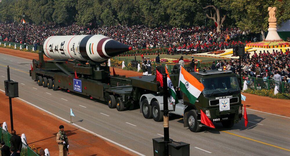 Hindistan'ın denediği balistik füze