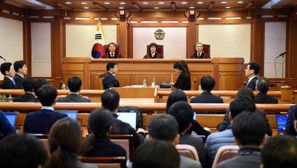 Güney Kore'deki Choi skandalı - Sputnik Türkiye