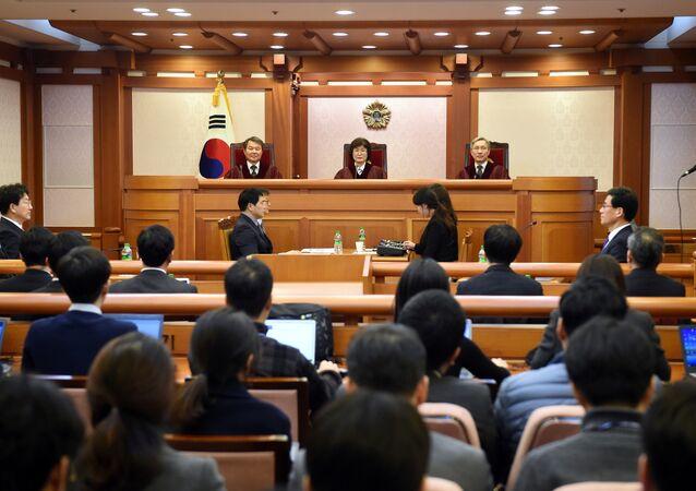 Güney Kore'deki Choi skandalı