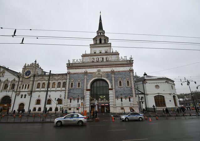 Moskova'daki Kazanskiy  tren garı