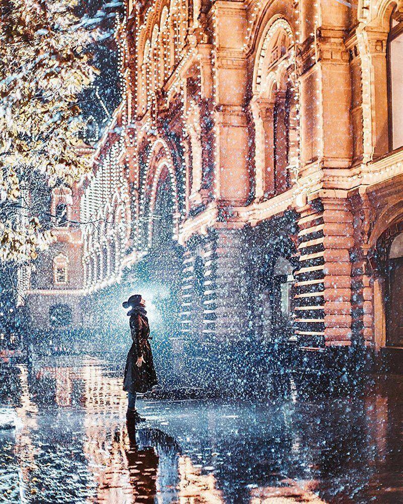 Moskova'da kış masalı