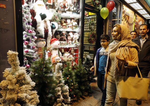 Tahran'da Noel