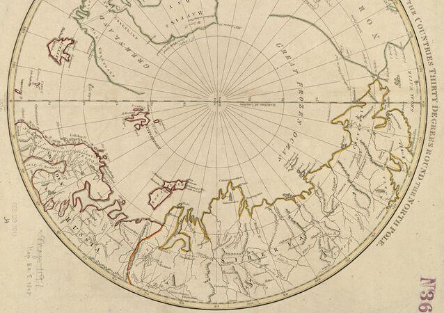 Kuzey Kutbu haritası