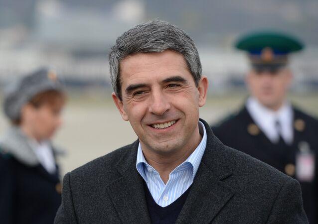 Bulgaristan Cumhurbaşkanı Rosen Plevneliyev