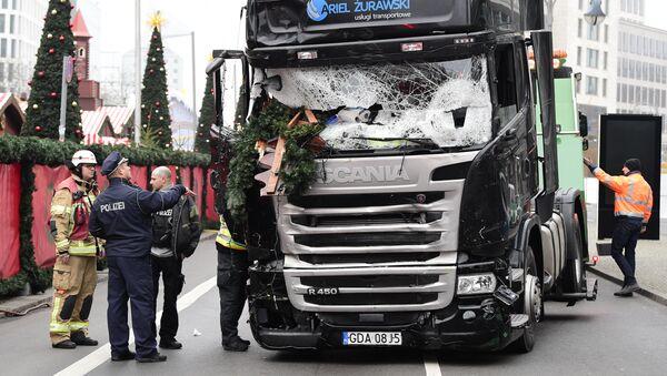 Berlin'deki terör saldırıları - Sputnik Türkiye
