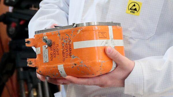 Düşen Tu-154 uçağının karakutusu - Sputnik Türkiye