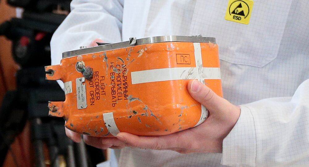 Düşen Tu-154 uçağının karakutusu