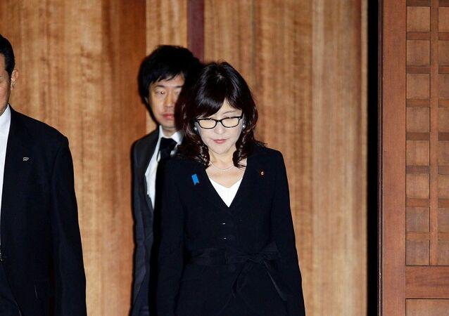 Japonya Savunma Bakanı Tomomi Inada, Yasukini Tapınağı'nı ziyaret etti