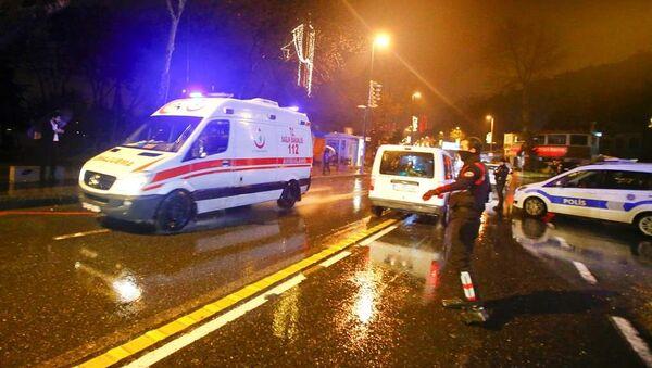 İstanbul - Reina - silahlı saldırı - Sputnik Türkiye