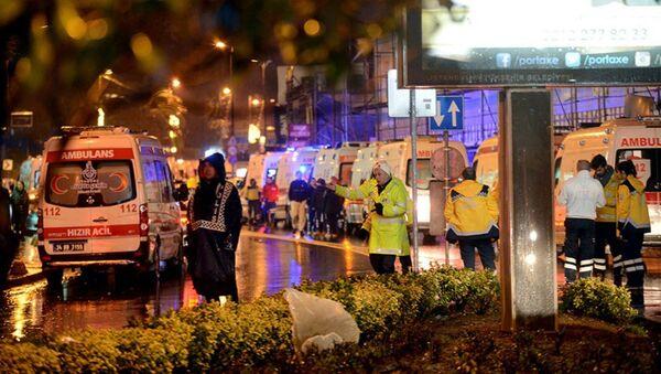 İstanbul - Reina- silahlı saldırı - Sputnik Türkiye