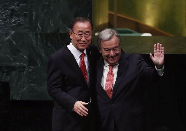 Antonio Guterres - Ban Ki-mun