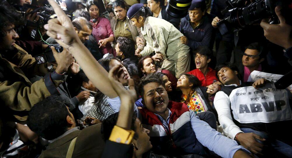 Hindistan'da tecavüz protestoları