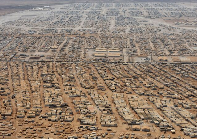 Zaatari sığınmacı kampı