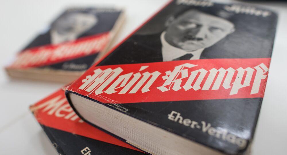 Adolf Hitler'in 'Kavgam-Mein Kampf' adlı eseri