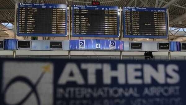 Atina Elefterios Venizelos Uluslararası Havalimanı - Sputnik Türkiye