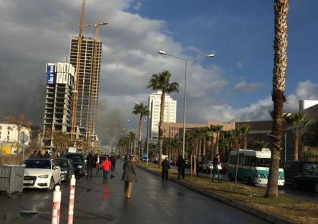 İzmir Bayraklı Adliyesi'nde patlama