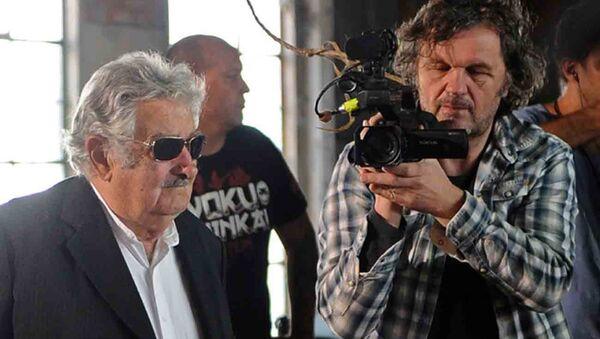 Emir Kusturica ve Jose Mujica - Sputnik Türkiye