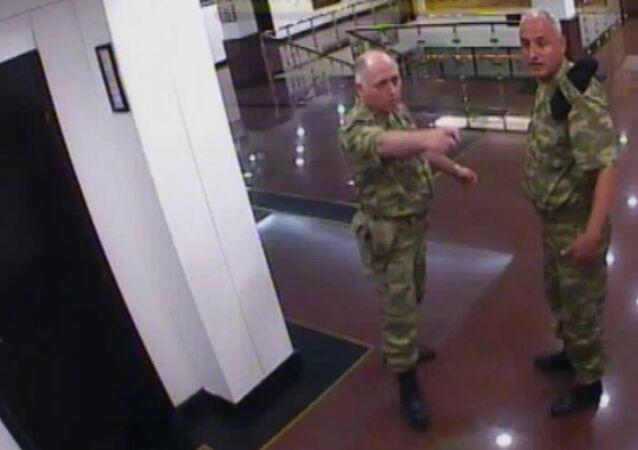 Darbe girişimi gecesi 2. Ordu'da olanların kamera görüntüsü ortaya çıktı