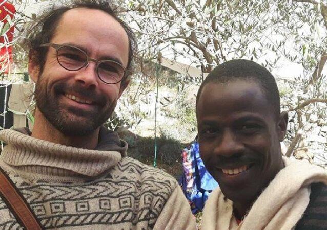 Fransa'da sığınmacılara yardımcı olan çiftçi Cedric Herrou