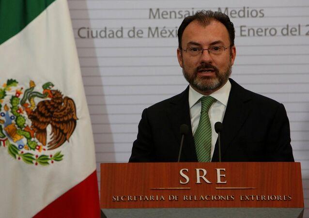 Meksika'nın yeni Dışişleri Bakanı Luis Videgaray