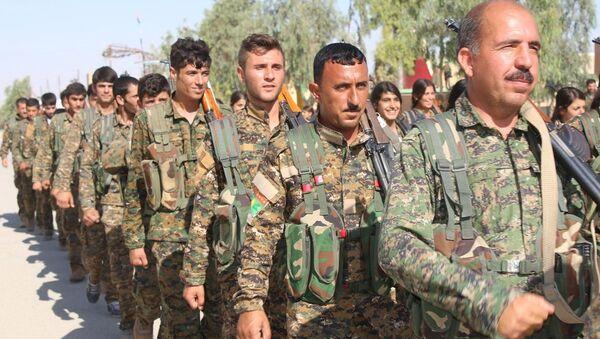 Şengal'deki PKK birlikleri - Sputnik Türkiye