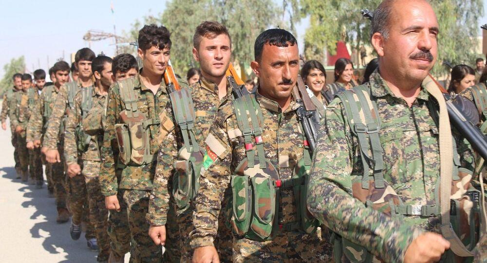 Şengal'deki PKK birlikleri