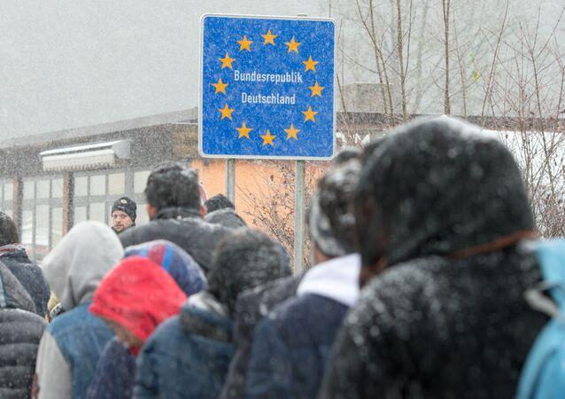 Almanya-Avusturya sınırı yakınları