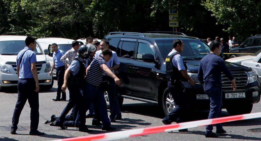 Kazakistan polisi