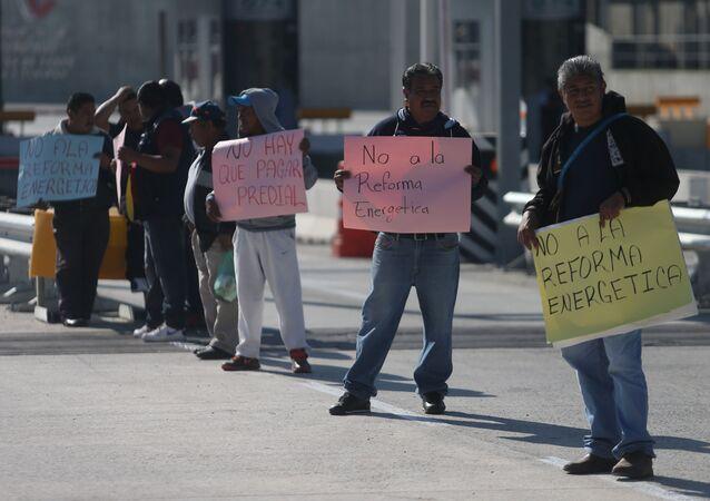 Meksika'da benzin zammı protestoları