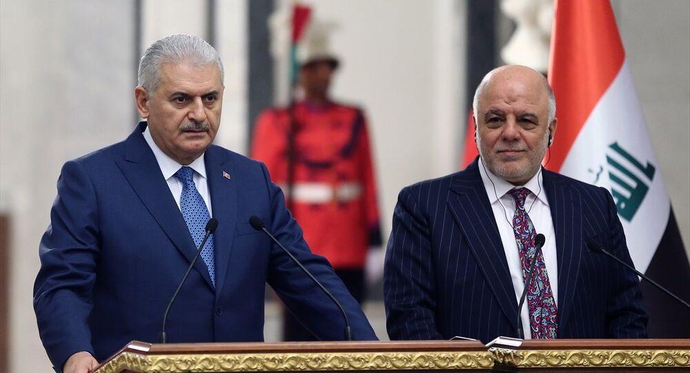 Başbakan Binali Yıldırım- Irak Başbakanı Haydar el İbadi