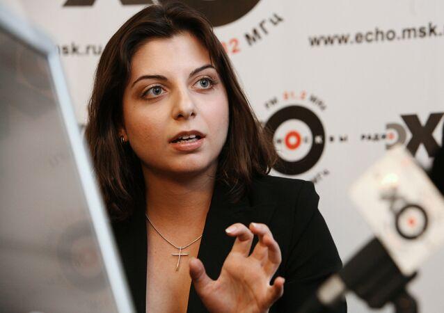 Sputnik ve RT Genel Yayın Yönetmeni Margarita Simonyan