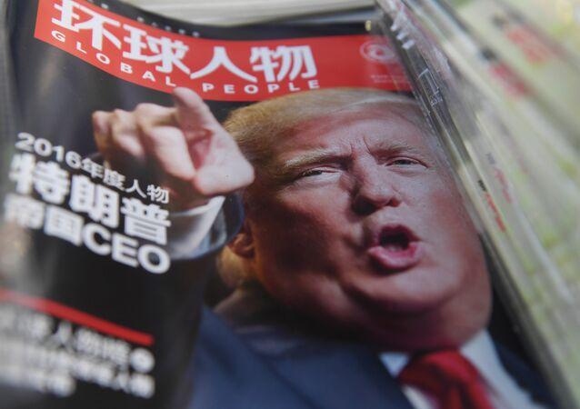 Trump, Çin medyasında sıklıkla konu oluyor