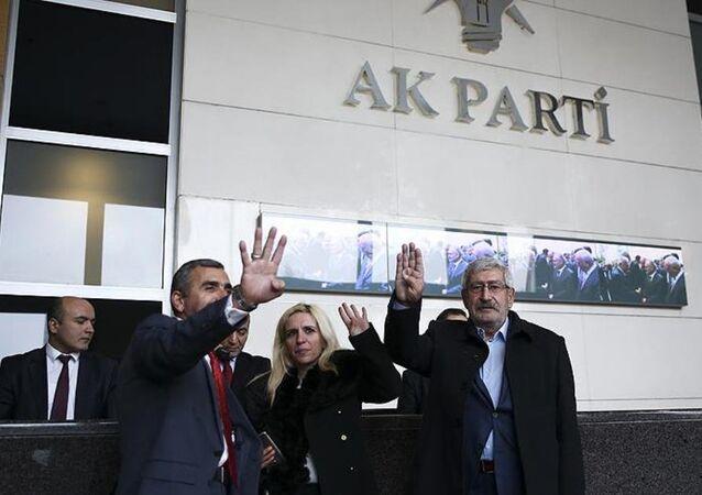 CHP Genel Başkanı Kılıçdaroğlu'nun kardeşi Celal Kılıçdaroğlu, AK Parti'ye üyelik başvurusunda bulunmak üzere genel merkeze gitti.