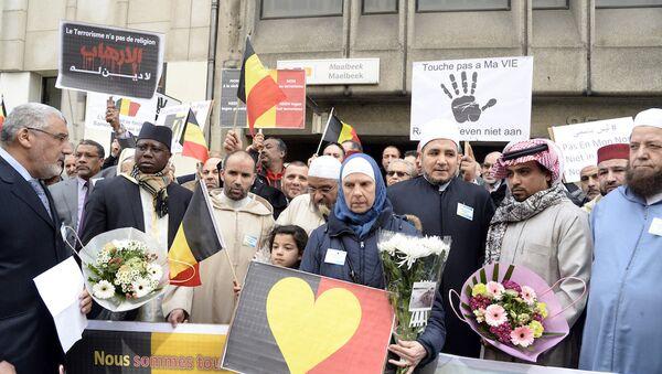 Belçika'daki Müslümanlar - Sputnik Türkiye