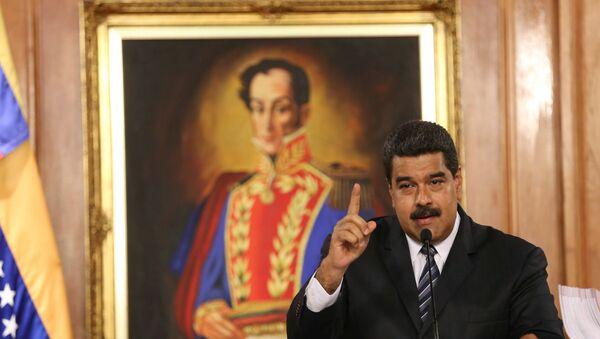 Venezüella Devlet Başkanı Nicolas Maduro - Sputnik Türkiye