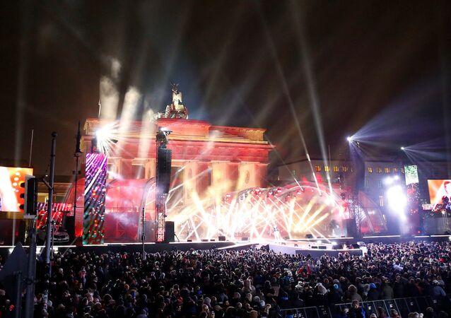 Berlin'deki yeni yıl kutlamaları