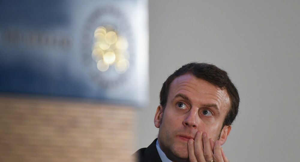 Fransa'da cumhurbaşkanı adaylarından Emmanuel Macron