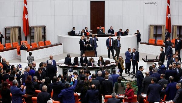 TBMM - anayasa görüşmeleri - Sputnik Türkiye