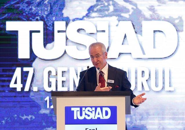 TÜSİAD Yönetim Kurulu Başkanlığına seçilen Erol Bilecik