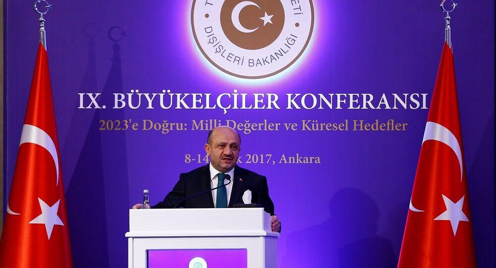 Milli Savunma Bakanı Fikri Işık, Dışişleri Bakanlığı tarafından düzenlenen 9. Büyükelçiler Konferansı'na katılarak konuşma yaptı.