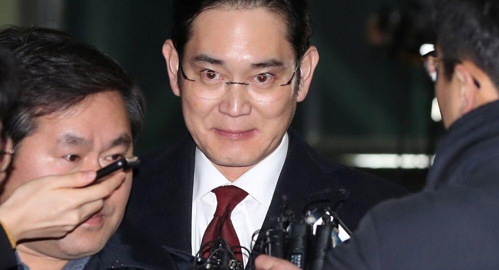 Samsung veliahtı Jay Y. Lee